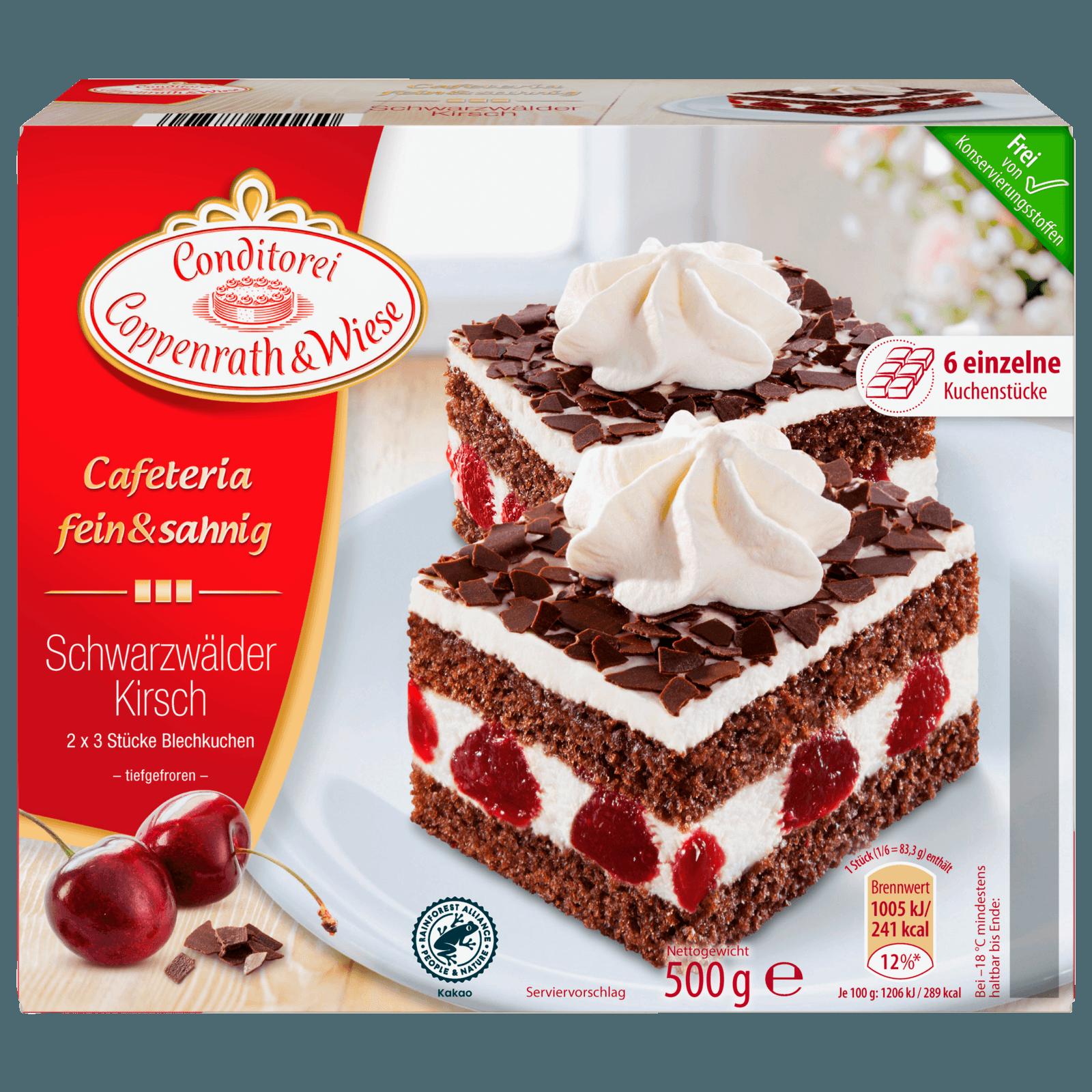 Coppenrath & Wiese Cafeteria Fein & Sahnig Schwarzwälder-Kirsch 500g