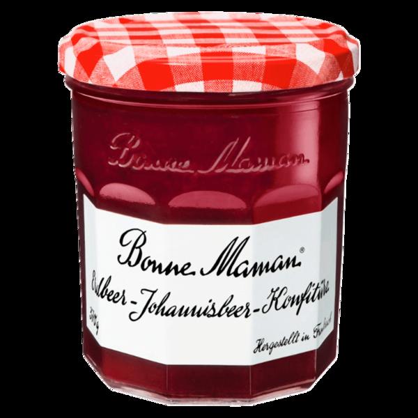 Bonne Maman Erdbeer-Johannisbeer-Konfitüre 370g