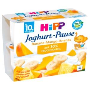 Hipp Joghurt-Pause Banane-Mango-Ananas 4x100g