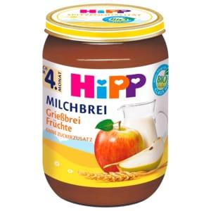 Hipp Milchbrei Grieß-Früchte 190g