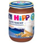 Hipp Gute Nacht-Brei Bio 7-Korn Ohne Zuckerzusatz 190g