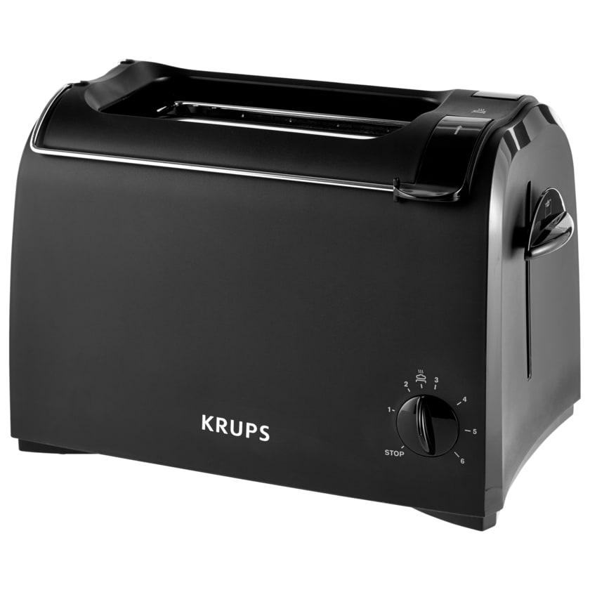 Krups Toaster schwarz