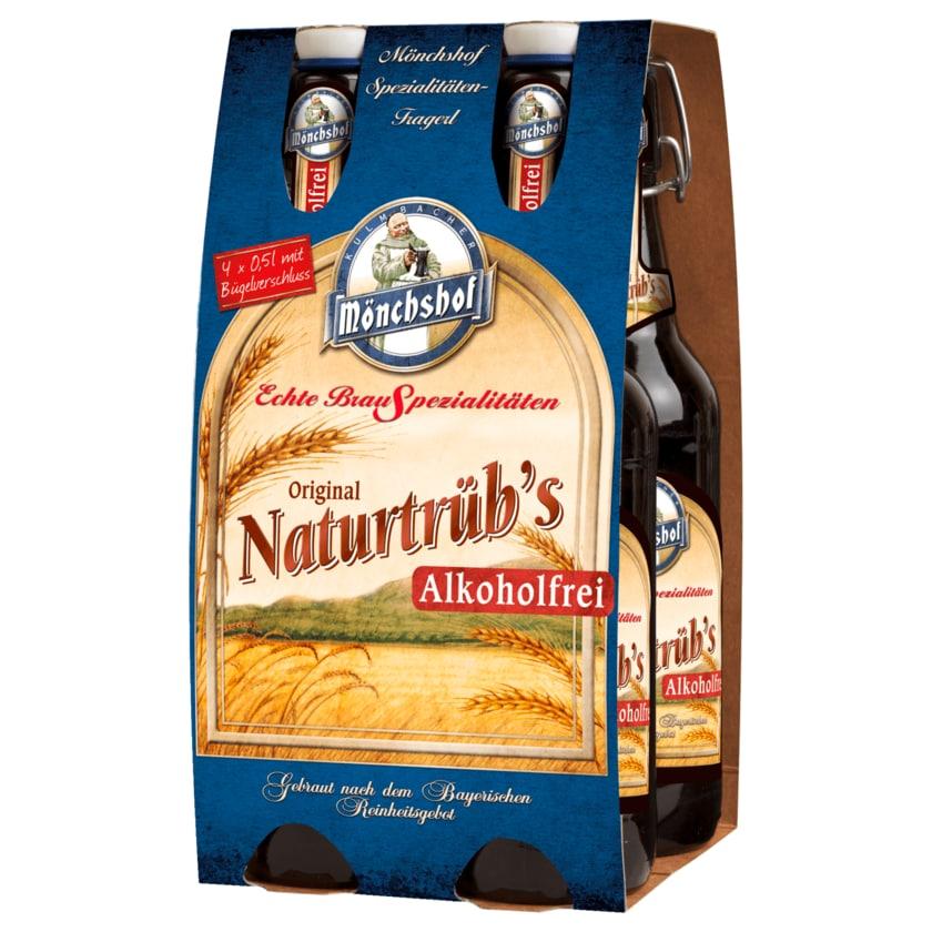Mönchshof's Naturtrüb alkoholfrei 4x0,5l
