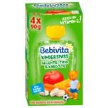 Bebivita Kinder-Spaß Früchte-Trio und Karotte 4x90g