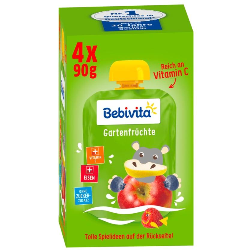 Bebivita Kinder-Spaß Gartenfrüchte 4x90g