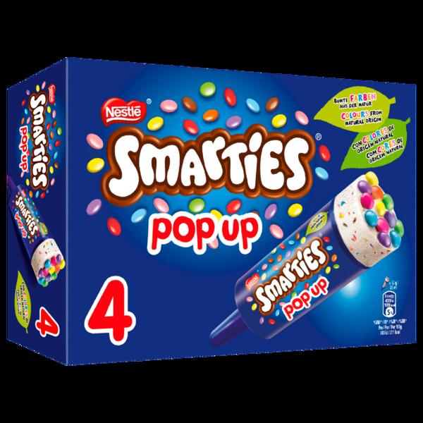 Nestlé Schöller Eis Smarties Pop Up 4x85ml