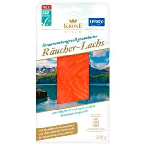 Krone Fisch Räucherlachs 100g