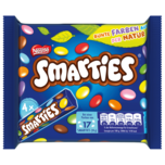 Nestlé Smarties Multipack kleine Rolle Bunte Schokolinsen 4x38g