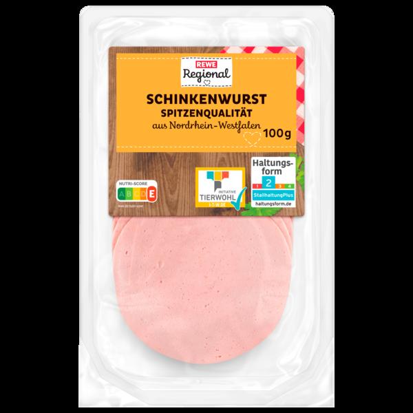 REWE Regional Schinkenwurst 100g