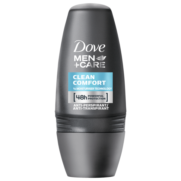 Dove Men+Care Deo Roll-On Clean Comfort Anti-Transpirant 50ml