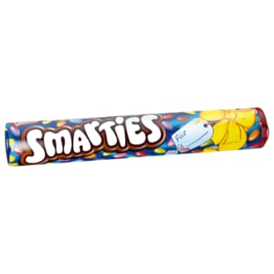 Nestlé Smarties Riesenrolle Bunte Schokolinsen 150g