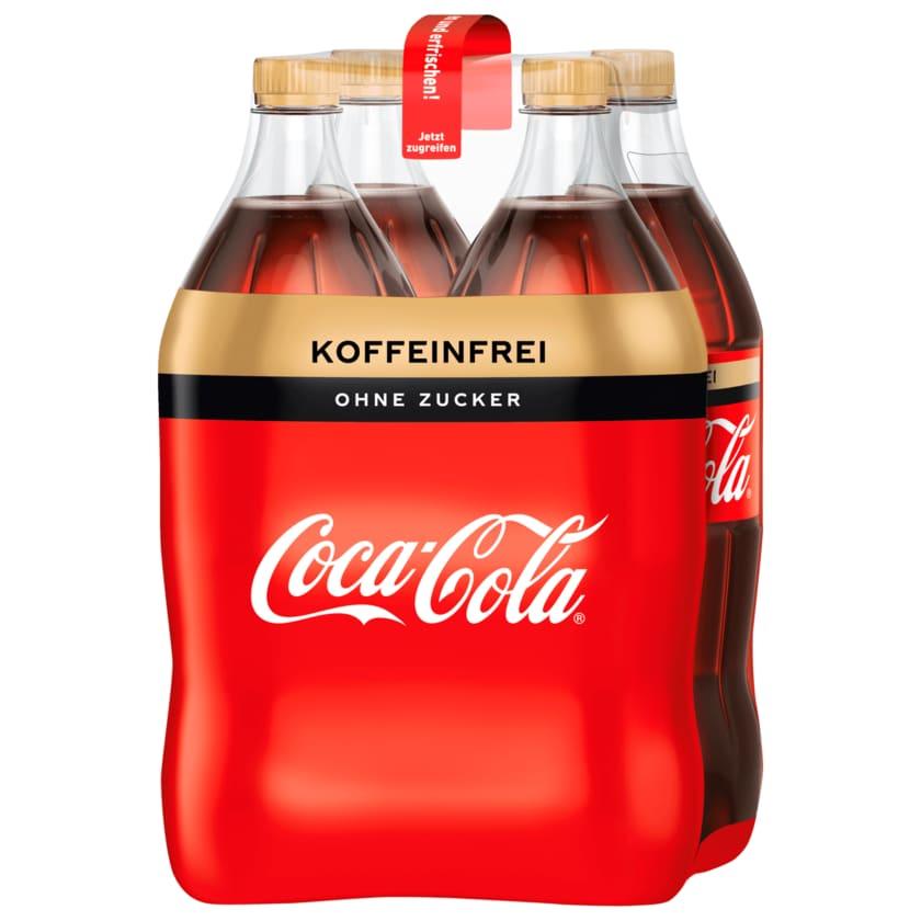 Coca-Cola Zero koffeinfrei 4x1,5l