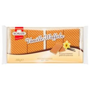 Schulte Feingebäck Vanille-Waffeln 200g