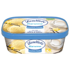 Landliebe Eis Bourbon-Vanille 750ml