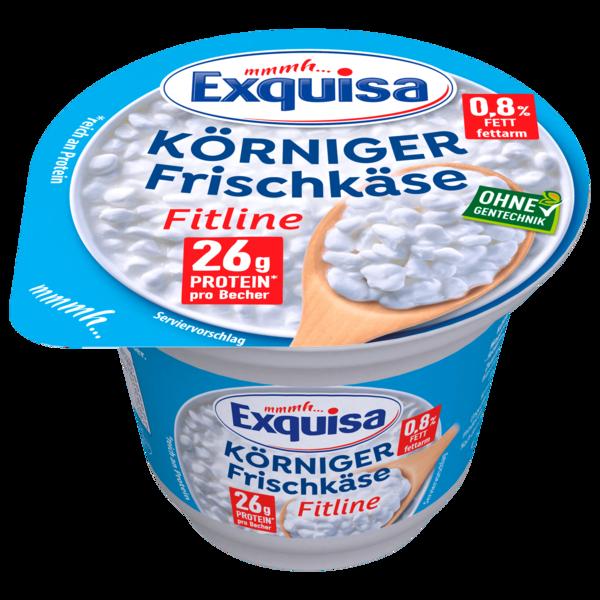 Exquisa Körniger Frischkäse Fitline Natur 200g