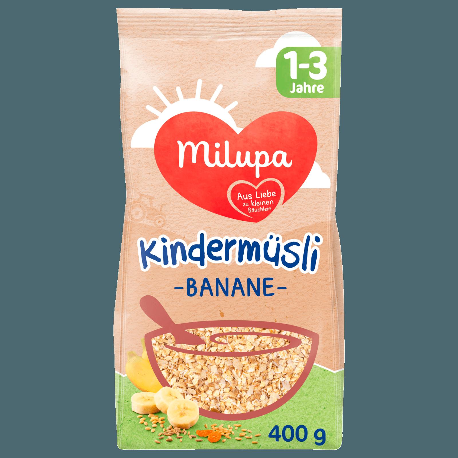 Milupa Kindermüsli Banane 1-3 Jahre 400g