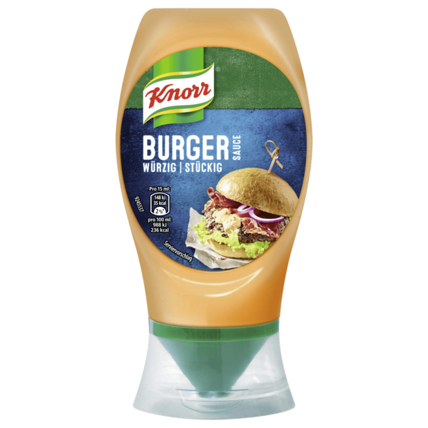 Knorr Würzige Burger Sauce 250ml