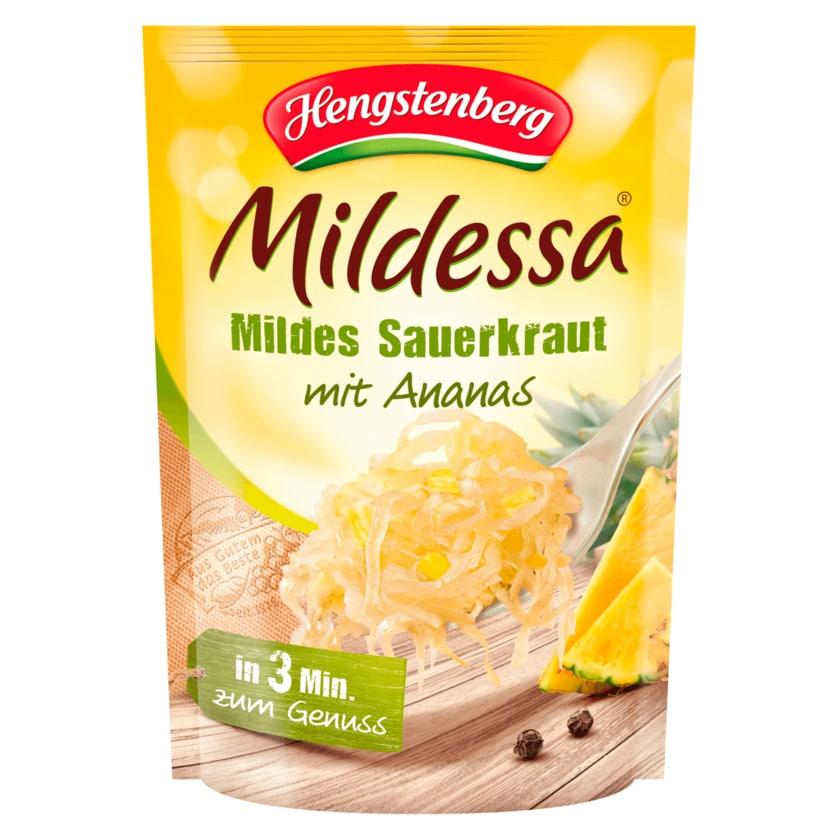 Hengstenberg Mildessa mildes Sauerkraut mit Ananas 350g