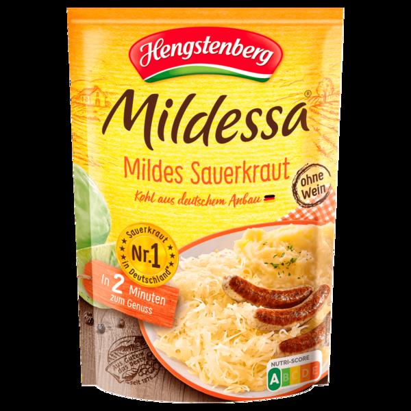 Hengstenberg Mildessa Mildes Sauerkraut 350g