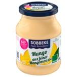 Söbbeke Bio Fruchtjoghurt Smooth Mango 500g