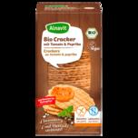 Alnavit Bio Cracker mit Tomate & Paprika 60g