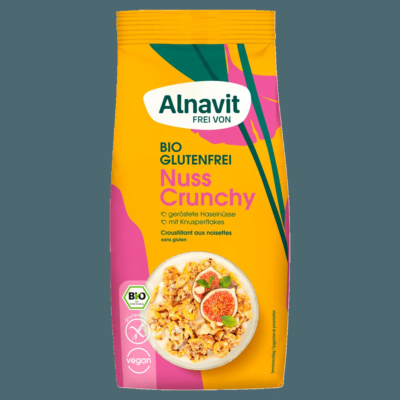 Alnavit Bio Nuss Crunchy glutenfrei 300g
