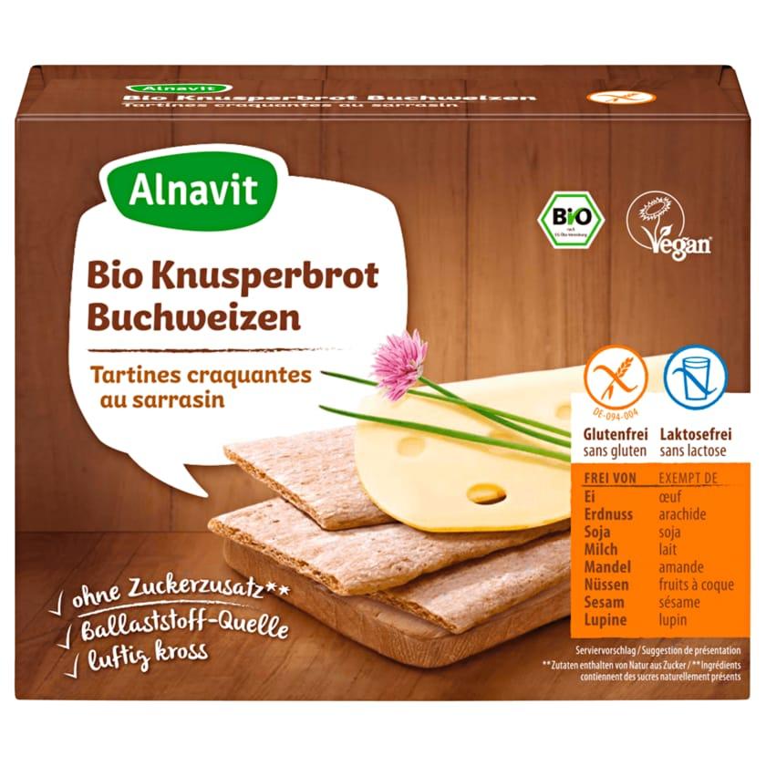 Alnavit Bio Knusperbrot Buchweizen glutenfrei 150g