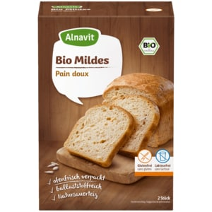Alnavit Bio Brotbackmischung Mildes 500g