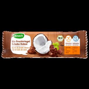 Alnavit Bio Fruchtriegel Schoko-Kokos 40g