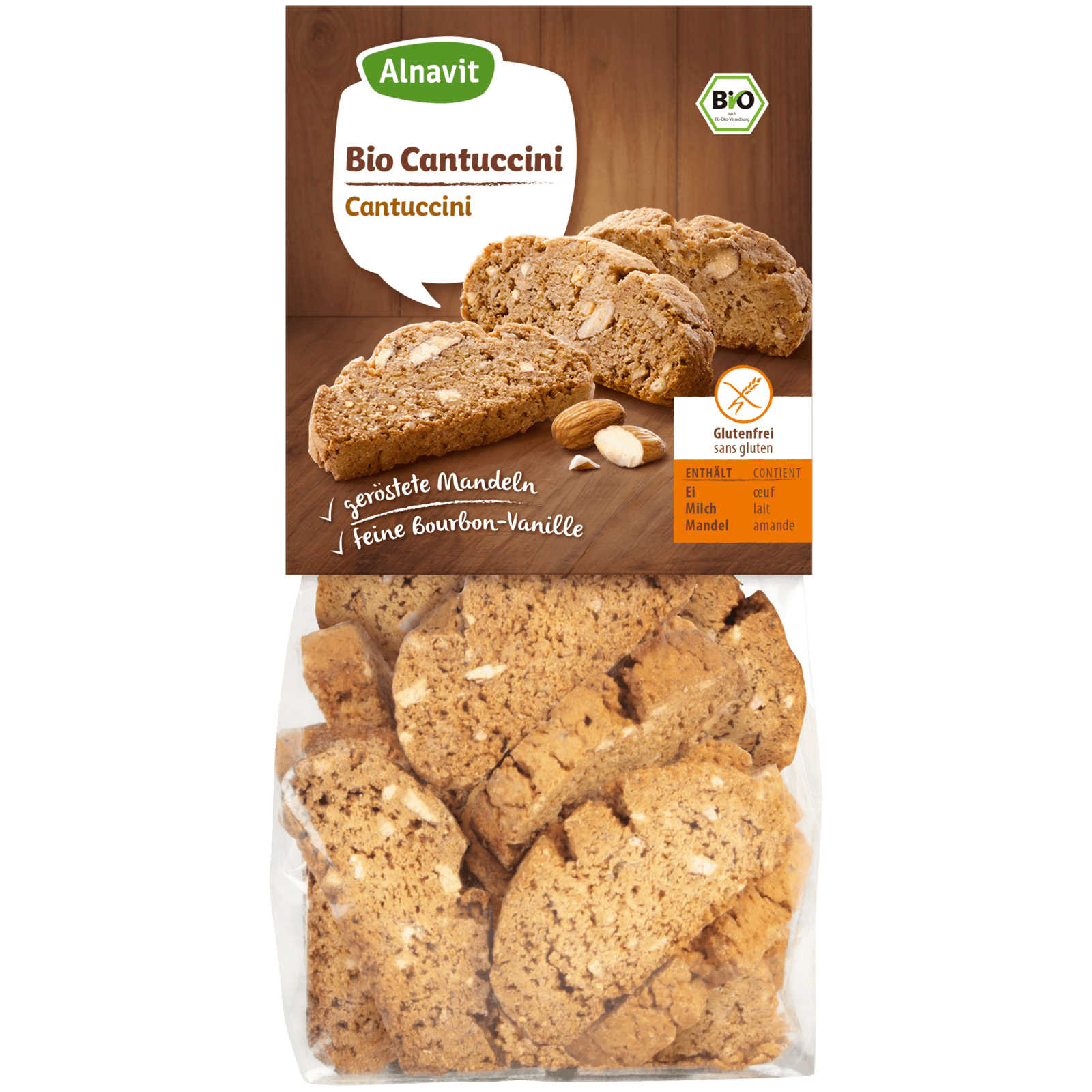 Alnavit Bio Cantuccini glutenfrei 125g