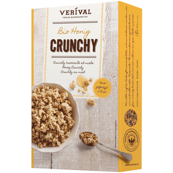 Verival Bio Honig Crunchy Müsli 375g