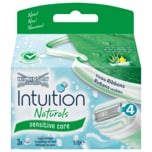 Wilkinson Sword Intuition Naturals Sensitiv Care Klingen 3 Stück