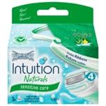Wilkinson Sword Intuition Naturals Sensitiv Care Klingen 3 Stück