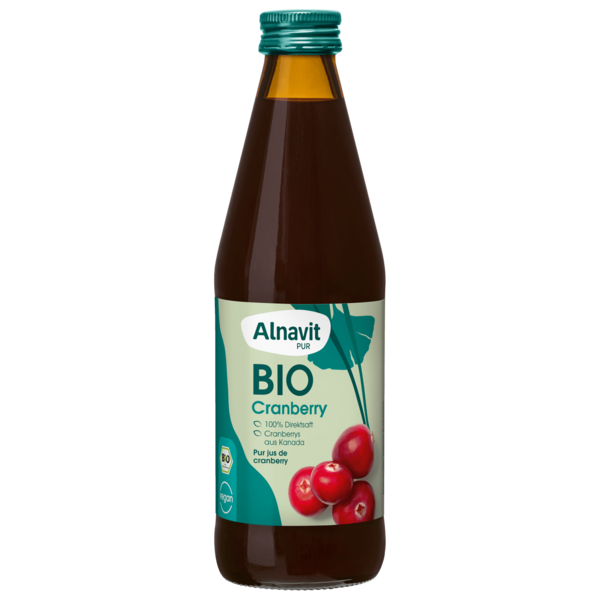 Alnavit Bio Cranberry Muttersaft 0,33l