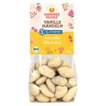 Hammer Mühle Bio Vanille Mandeln mit weißer Schokolade glutenfrei 100g