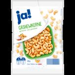 ja! Cashewkerne geröstet & gesalzen 150g
