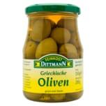 Feinkost Dittmann Griechische Oliven grün mit Stein 200g