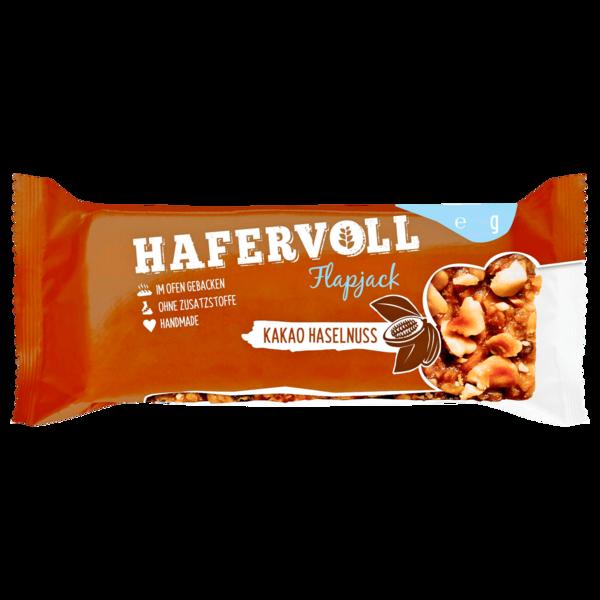 Hafervoll Flapjack Kakao-Haselnuss 65g