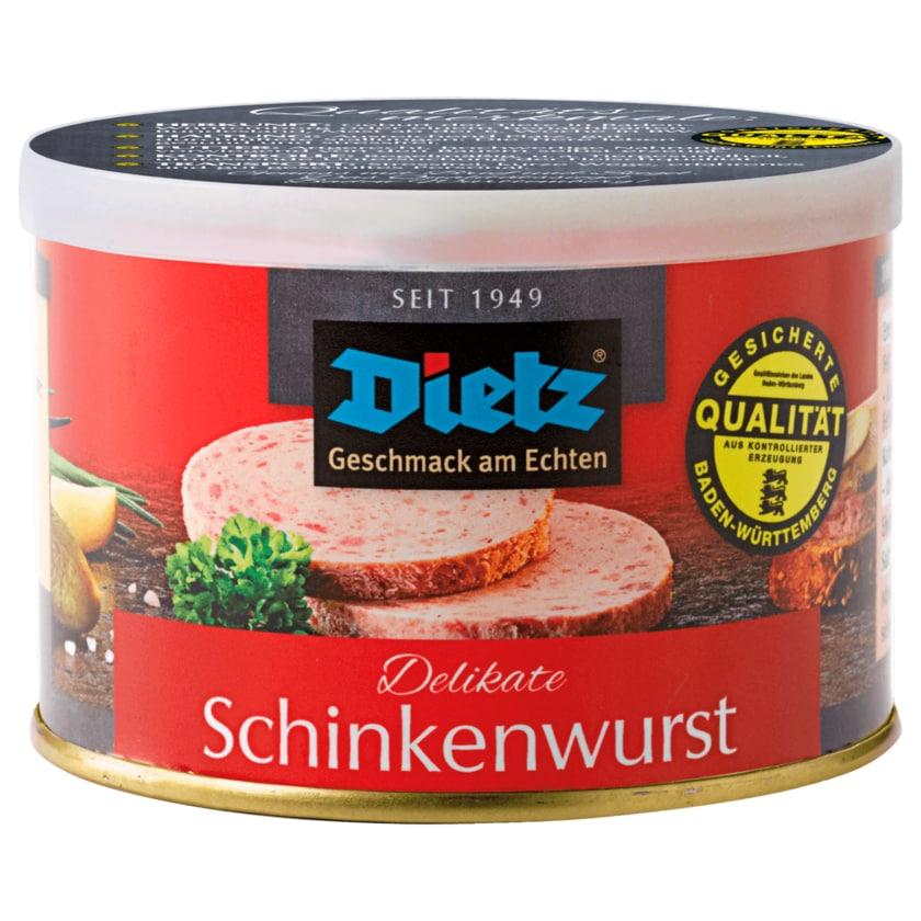 Dietz Delikate Schinkenwurst 200g