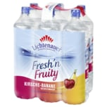 Lichtenauer Fresh'n Fruity Kirsche Banane 6x1,5l