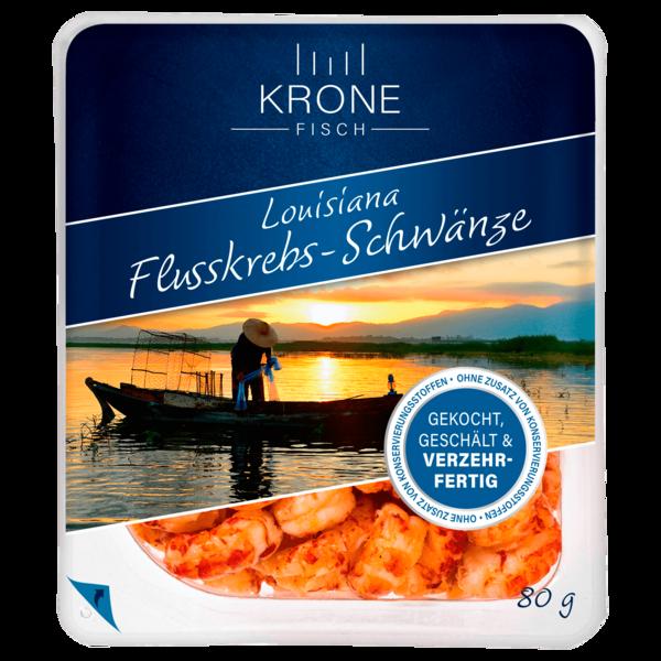 Krone Fisch Louisiana-Flusskrebs-Schwänze 80g