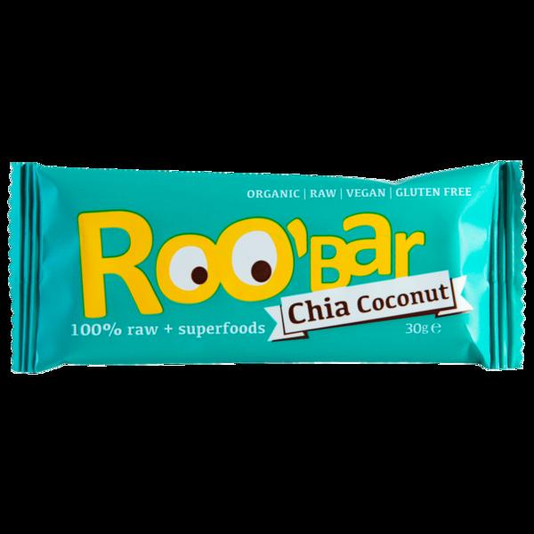 Roobar Superfood Bio Riegel Chia Coconut 30g