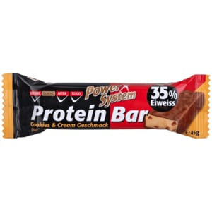 Power System Protein Bar 35% Cookies & Cream 45g