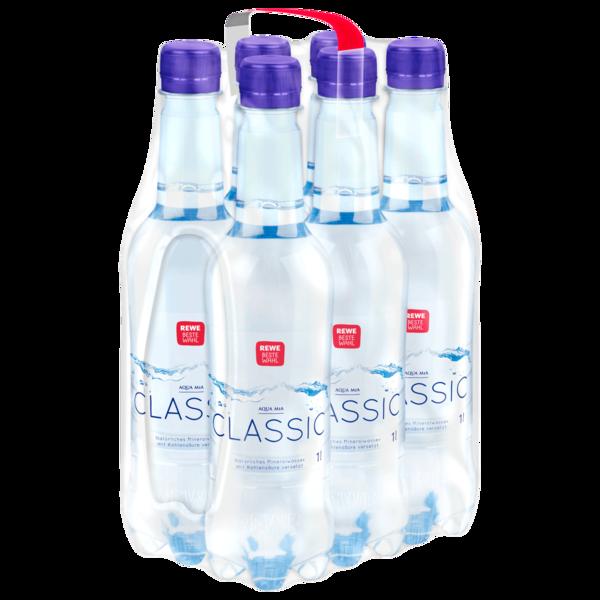 REWE Beste Wahl Mineralwasser Classic 6x1l