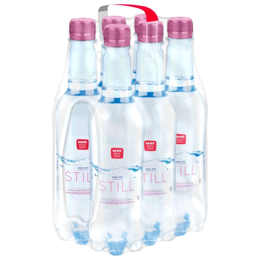 REWE Beste Wahl Mineralwasser still 6x1l