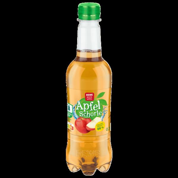 REWE Beste Wahl Apfelschorle 0,5l