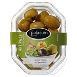 Palatum grüne Oliven mit Mandeln 160g