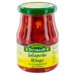 Feinkost Dittmann Jalapeño-Ringe rot 160g