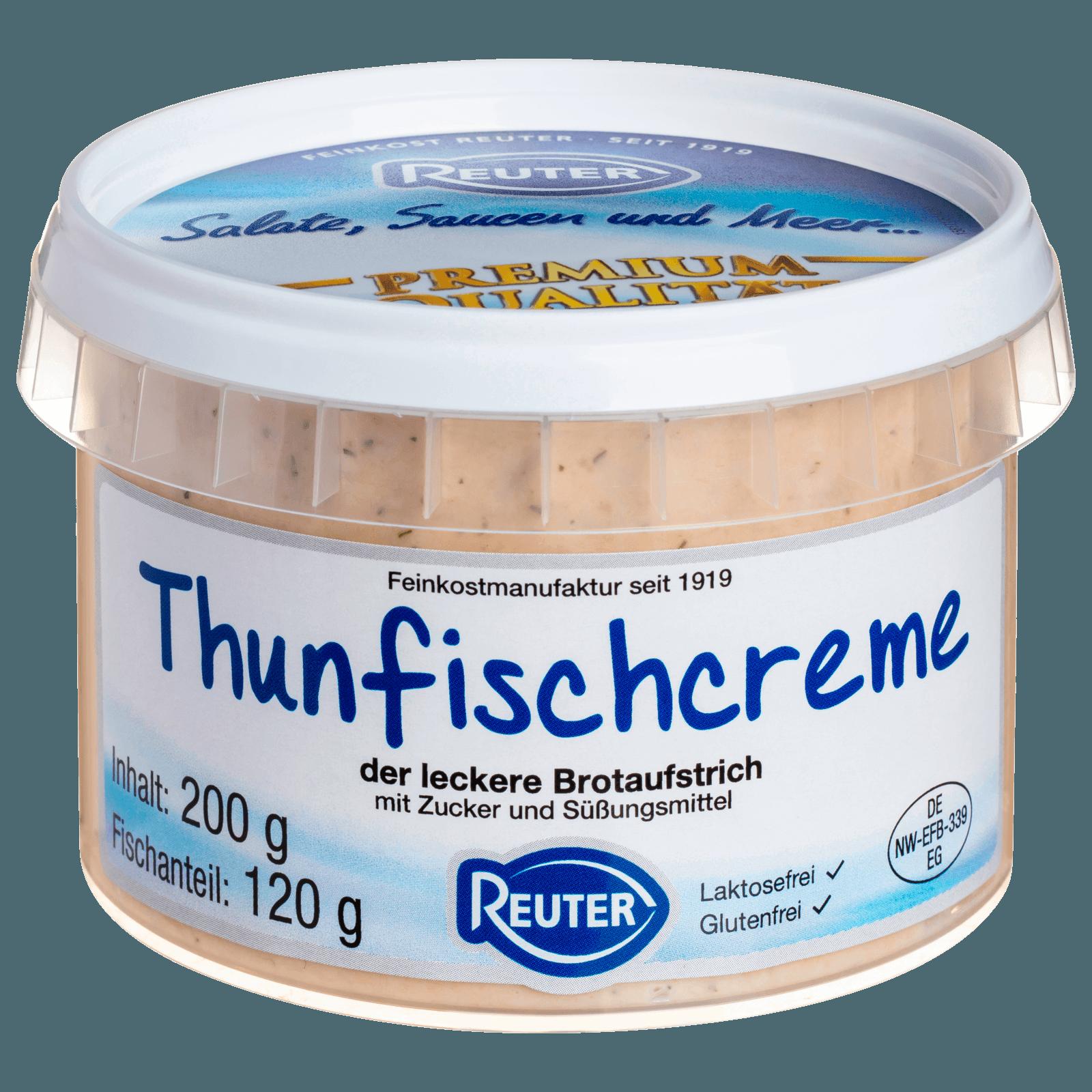 Reuter Thunfischcreme 200g