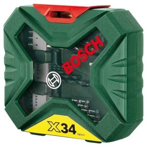 Bosch X-Line Bohrer und Schrauberset, 34-teilig + 30 Treuepunkte*